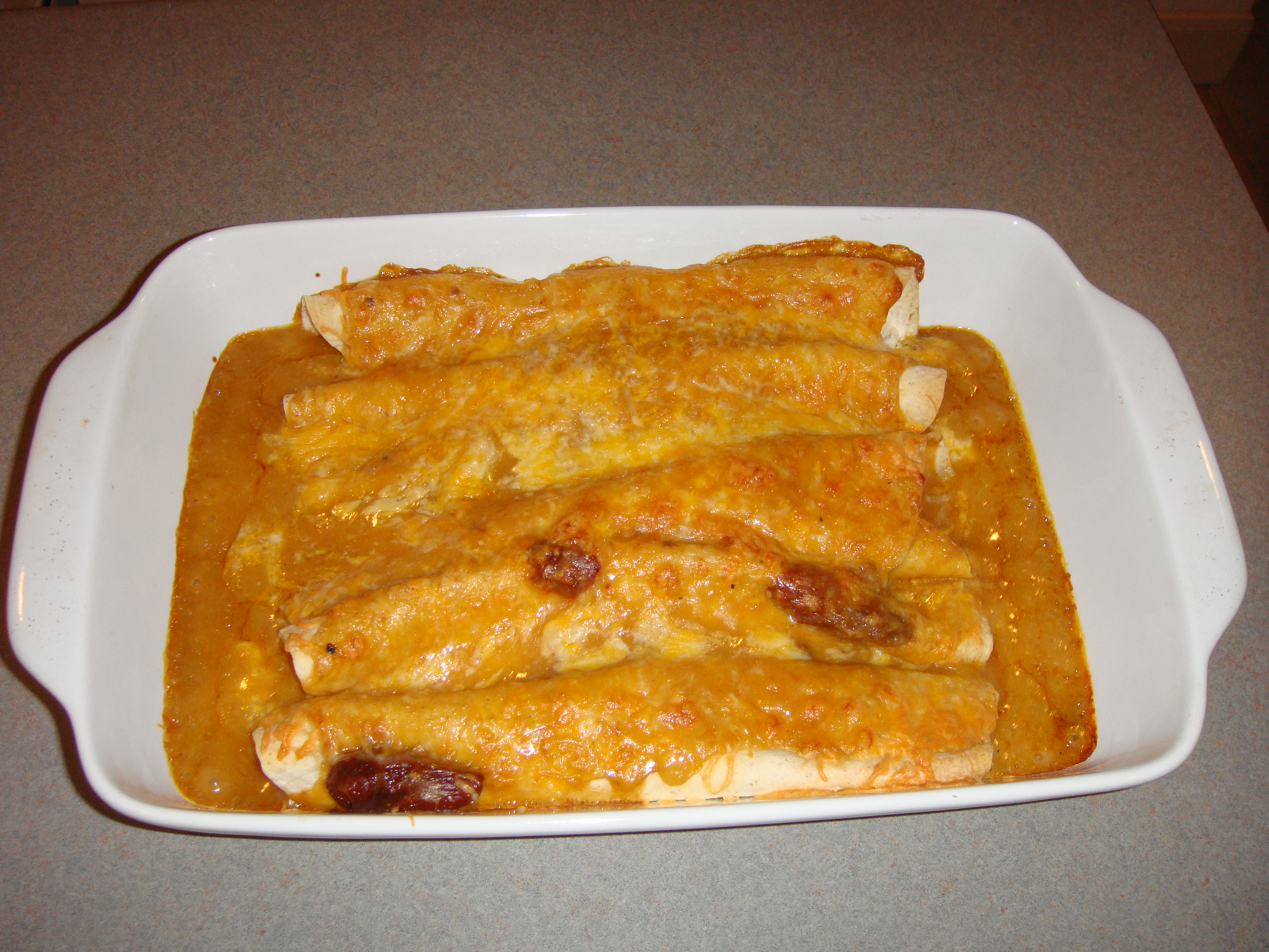 Lighter Chicken Enchiladas – Obsessive Daydreamer