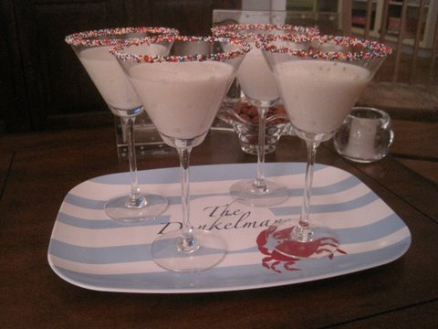 Party Tablespoon 2011 Double Rainbow Cake Jelly Shot